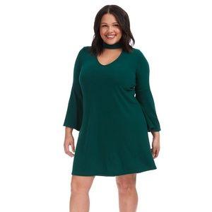 Karen Kane Mockneck Taylor Dress